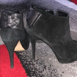 DV dolce vita booties with bow detail