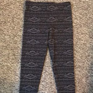 H&M patterned leggings