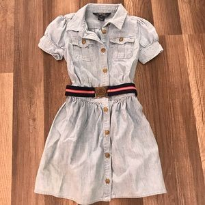 Ralph Lauren Polo Jean Dress with Belt and Buckle
