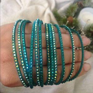 Swarovski Wrap Bracelet
