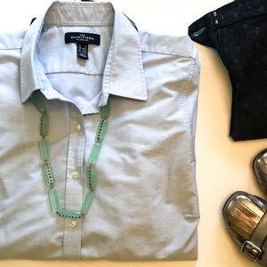 Blue Oxford Cloth Shirt