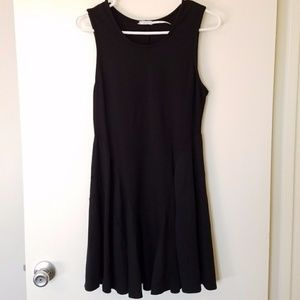 Urban Outfitter black sleeveless Aline dress M