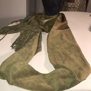 Banana Republic leather scarf/wrap