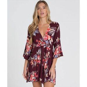 Billabong floral print dress