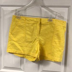 New York & Company Linen/Cotton Shorts - Size 12