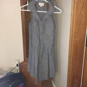 Brand new Derek heart collared sleeveless dress