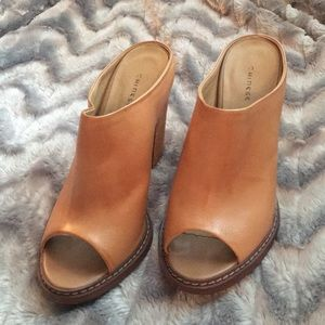 Chinese Laundry Open-Toe Bootie