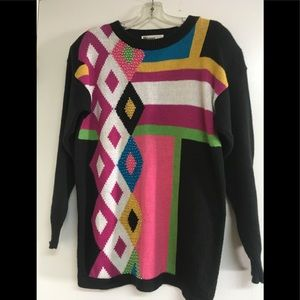 Vintage sweater from the 1980s