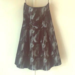 Formal strapless White House Black Market dress