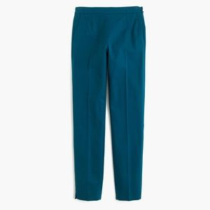 Martie Slim Cotton Pant in India Blue