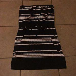 White House Black Market strapless dress sz. S