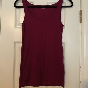 Loft tank top never worn
