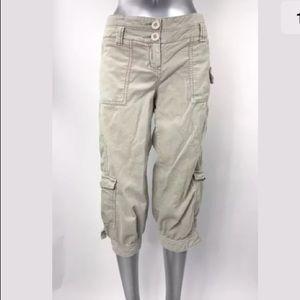 Anthropologie Ett Twa Pants Capri Cargo Corduroy