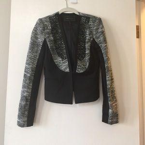 BCBG Maxazria black and white blazer 🖤