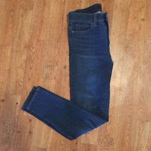 UNIQLO high waisted stretch jeans NWOT