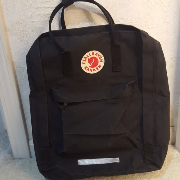 73512c9d8 Fjallraven Bags | One Day Sale Black Kanken Maxi Like New | Poshmark