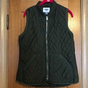 Old Navy Olive Green Vest