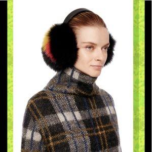 Eugenia Kim fox fur earmuffs