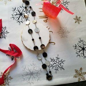 Lia Sophia Jewelry - Lia Sophia Black and White Necklace