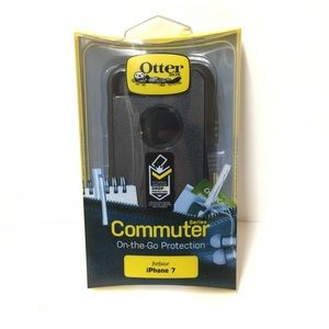 Other - Black Apple iPhone 7 Otterbox Commuter