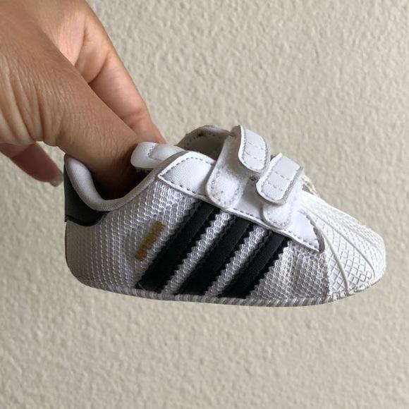 "Adidas Baby Shoe ""Newborn Size 1"""