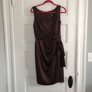 Brown formal dress!