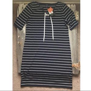 Just In🌲NWT Jones New York Striped Dress