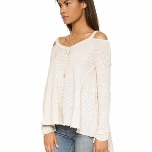 Free People Moonshine Off the shoulder Sweater