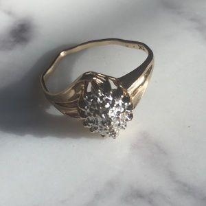 Vintage real 10k gold ring