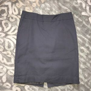 Merona Skirt! Gray! Lined! 4