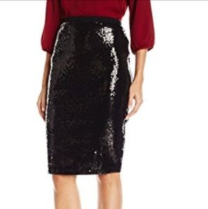 Vince Camuto sequins pencil skirt