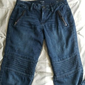 A.N.A. Moto Jeggings Jeans