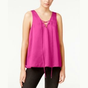 NEW Trendy Lace-Up Tank Top,
