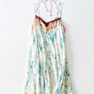 Free People Embellished Tie Dye Maxi Dress