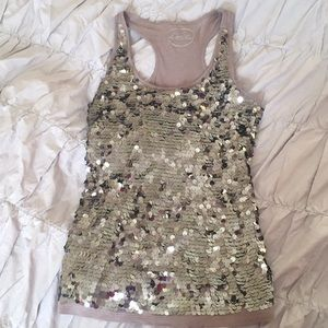 INC Sequin Tank