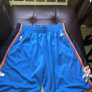 OKC BASKETBALL SHORTS BALLIN'
