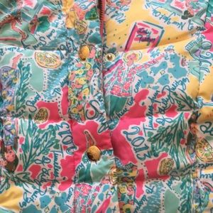 🎄 Anniversary Edition Lilly Pulitzer puffy vest