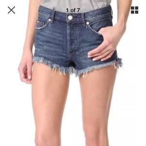 Free People NWOT Jean shorts size 31