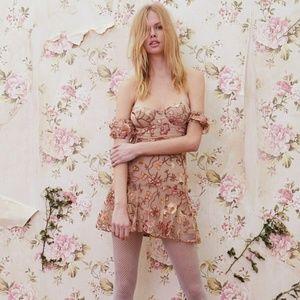 For love and lemons botanic mini dress