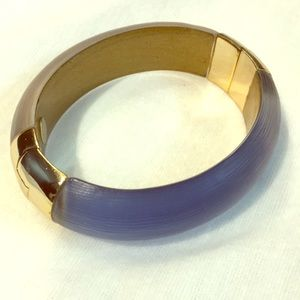 Alexis Bittar blue and gray bracelet
