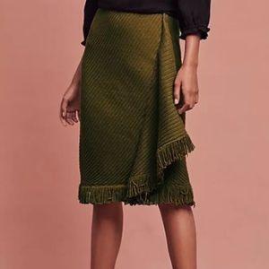 Anthropologie- Rosie Neira - Sweater Fringe Skirt