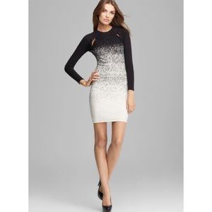 French Connection Ombré Dust Jersey  bodycon dress