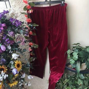 Vintage Red Velvet trousers ❤️