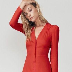 NWT Reformation Courtney Dress Size 6