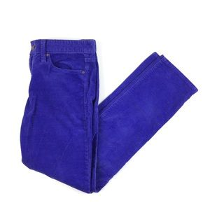 GAP Real Straight Powerful Blue Cords // 28