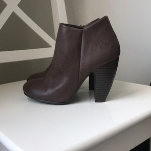 CATO Brown Booties