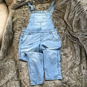 ANTHROPOLOGIE Level 99 Overalls size L, EUC!👩‍🌾