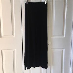 Merona Black Maxi Skirt