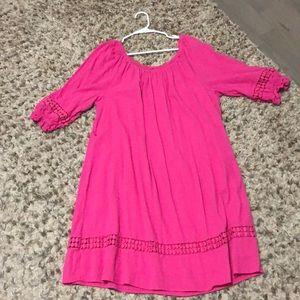 Pink Lane Bryant shift dress