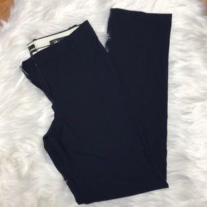 J. crew navy blue 10T tall dress pants